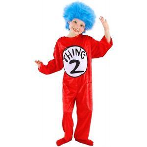 Thing 1 and Thing 2Toddler キッズ 子供用 Dr Seuss ハロウィン コスチューム コスプレ 衣装 変装 仮装