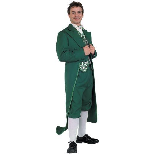 【マラソン全品P5倍】Leprechaun 大人用 Irish グリーン スーツ with Coat Tails St. Patrick's Day クリスマス ハロウィン コスチューム コスプレ 衣装 変装 仮装