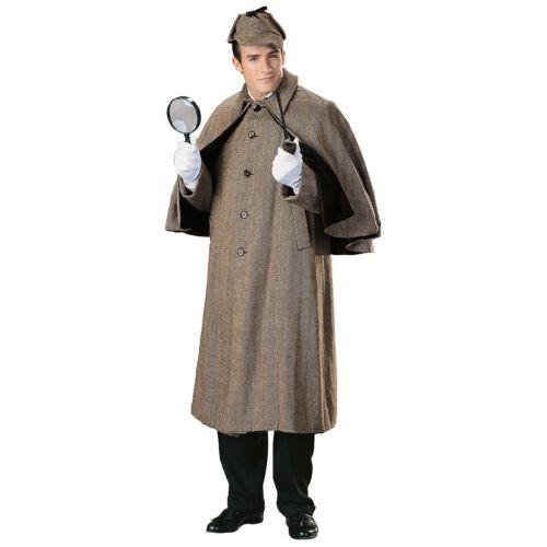 Sherlock Holmes 大人用 Victorian Steampunk Inverness Coat Cape ハロウィン コスチューム コスプレ 衣装 変装 仮装