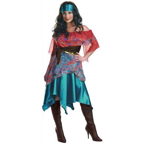クーポン多数有》Bohemian クリスマス Babe Gypsy 大人用 変装 コスチューム 仮装 《全品P5倍 コスプレ ハロウィン Fortune 衣装 Teller