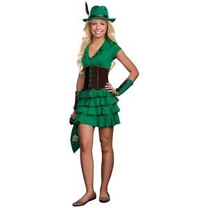 Robin Hoodfor Teen ガール レディス 女性用 ハロウィン コスチューム コスプレ 衣装 変装 仮装