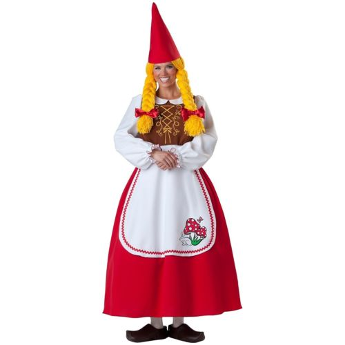Mrs Garden GnomeFunny 大人用 New ハロウィン コスチューム コスプレ 衣装 変装 仮装