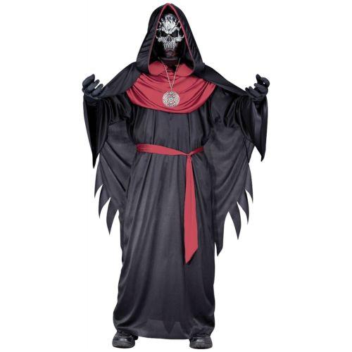 【全品P5倍】Emperor of Evil キッズ 子供用 Skull Priest 怖い ホラー クリスマス ハロウィン コスチューム コスプレ 衣装 変装 仮装