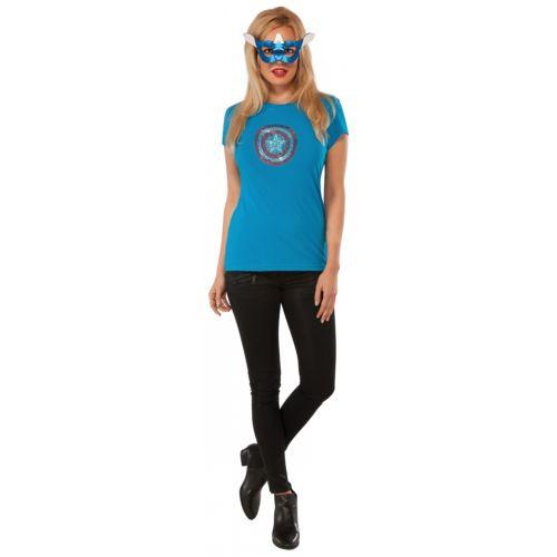 Superhero Tee 大人用 Marvel マーブルUniverse ハロウィン コスチューム コスプレ 衣装 変装 仮装