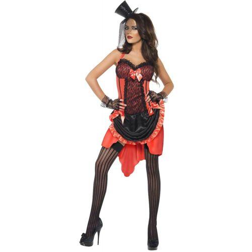 Burlesque 大人用 Moulin Rouge Can Can Saloon ガール Haloween ハロウィン コスチューム コスプレ 衣装 変装 仮装