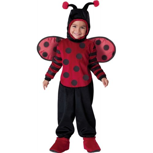 【ポイント最大29倍●お買い物マラソン限定!エントリー】LadybugToddler Lady Bug キッズ 子供用 ハロウィン コスチューム コスプレ 衣装 変装 仮装