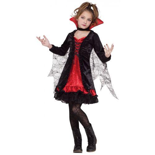 Lace バンパイア 吸血鬼ss キッズ 子供用 ハロウィン コスチューム コスプレ 衣装 変装 仮装