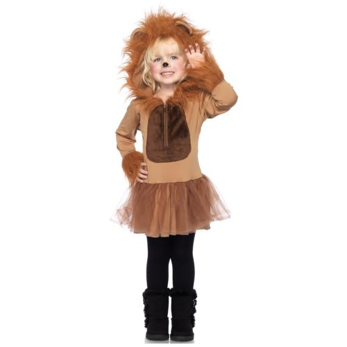 Cuddly ライオンToddler キッズ 子供用 ガール Cute Circus Animal クリスマス ハロウィン コスチューム コスプレ 衣装 変装 仮装