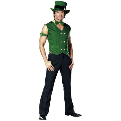 Leprechaunfor Men 大人用 Irish St ハロウィン Patricks Day ハロウィン コスプレ コスチューム St コスプレ 衣装 変装 仮装, あかりタウン:4396186e --- officewill.xsrv.jp