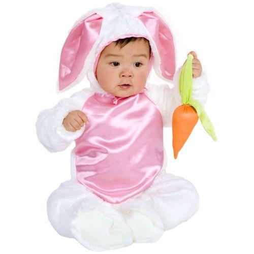 【全品P5倍】Plush バニー うさぎ バニーガールベイビー ホワイト ウサギ Easter クリスマス ハロウィン コスチューム コスプレ 衣装 変装 仮装