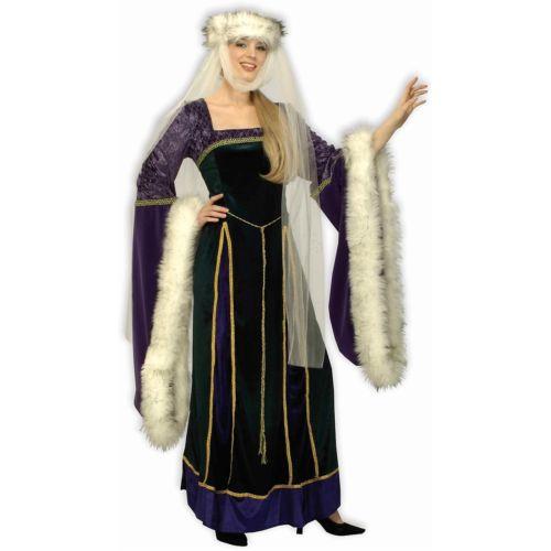 <title>Medieval Lady Costume Adult Halloween Fancy Dress 全品ポイント5倍 メーカー公式 大人用 クリスマス ハロウィン コスチューム コスプレ 衣装 変装 仮装</title>