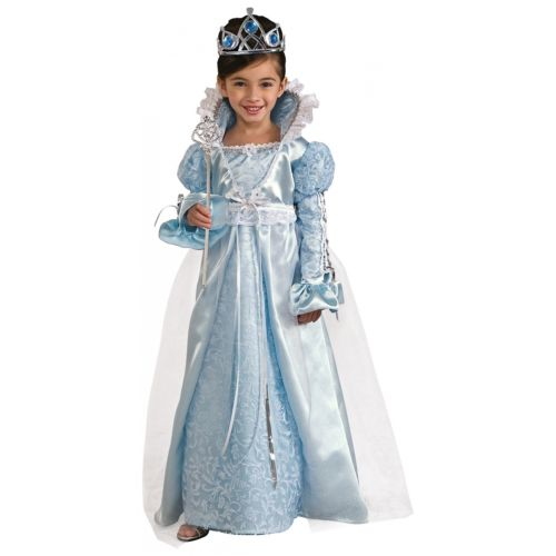 ブルー プリンセス 王女様 キッズ 子供用 Fairy Tale ドレスup Up ハロウィン コスチューム コスプレ 衣装 変装 仮装