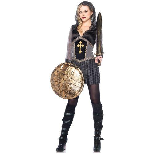 【ポイント最大29倍●お買い物マラソン限定!エントリー】Joan of Arc 大人用 レディス 女性用 Medieval Knight ハロウィン コスチューム コスプレ 衣装 変装 仮装