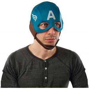 【ポイント最大29倍●お買い物マラソン限定!エントリー】Captain America キャプテンアメリカ Retro MaskMask 大人用 男性用 メンズ Captain America キャプテンアメリカ ハロウィン コスチューム コスプレ 衣装 変装 仮装