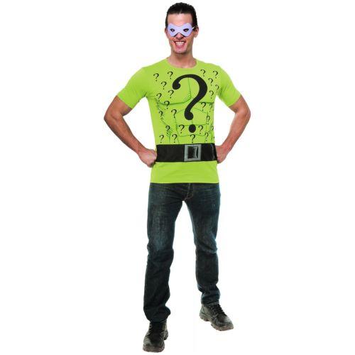 RiddlerTop 大人用 DC Comics DCコミックス ハロウィン コスチューム コスプレ 衣装 変装 仮装