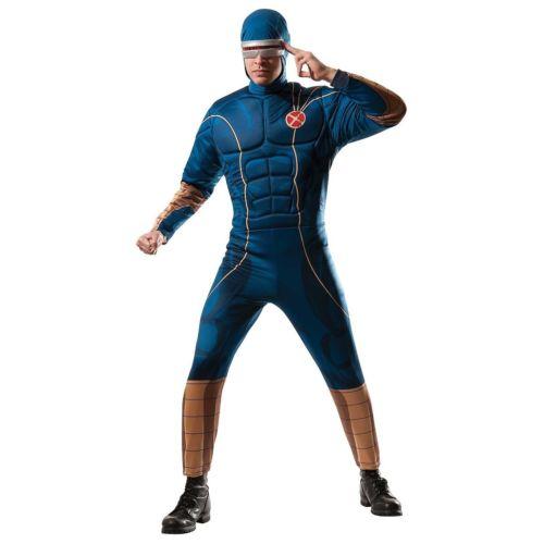 大人用 X-Men エックスメンCyclopsMarvel マーブル 変装 スーパーヒーロー ハロウィン マーブル コスチューム コスプレ 衣装 大人用 変装 仮装, エプロンマーケット:105ccc14 --- officewill.xsrv.jp