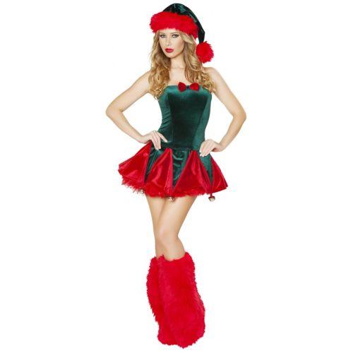 【ポイント最大29倍●お買い物マラソン限定!エントリー】セクシー Elf 大人用 クリスマス ハロウィン コスチューム コスプレ 衣装 変装 仮装
