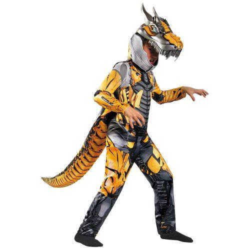【ポイント最大29倍●お買い物マラソン限定!エントリー】Transformer キッズ 子供用 Deluxe Dinobot Grimlock ハロウィン コスチューム コスプレ 衣装 変装 仮装