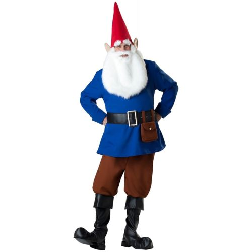 Garden Gnome 大人用 男性用 メンズ Funny Dwarf クリスマス ハロウィン コスチューム コスプレ 衣装 変装 仮装