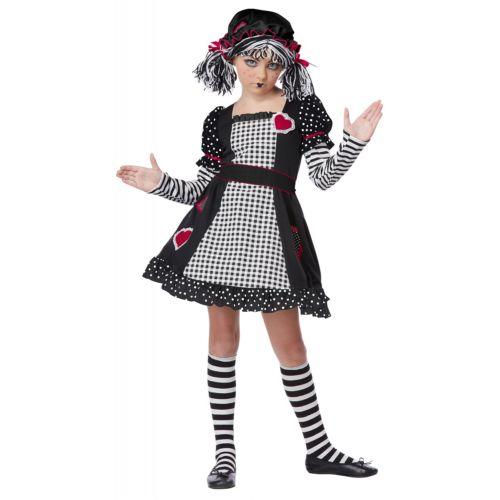 【ポイント最大29倍●お買い物マラソン限定!エントリー】Rag Doll キッズ 子供用 ハロウィン コスチューム コスプレ 衣装 変装 仮装
