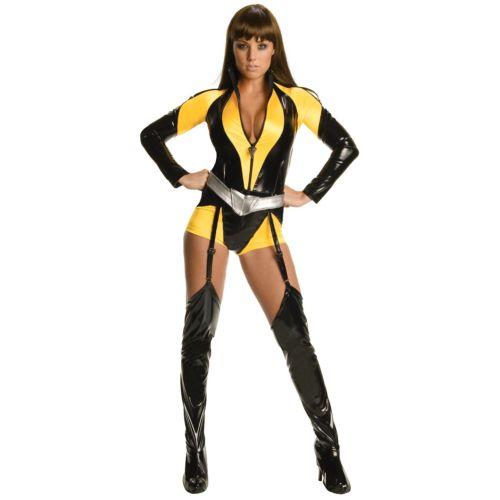 Silk Spectre 大人用 The Watchmen Superhero ガール ハロウィン コスチューム コスプレ 衣装 変装 仮装