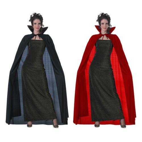 Full Length Cape 大人用 バンパイア 吸血鬼 Magician CloakAcsy ハロウィン コスチューム コスプレ 衣装 変装 仮装