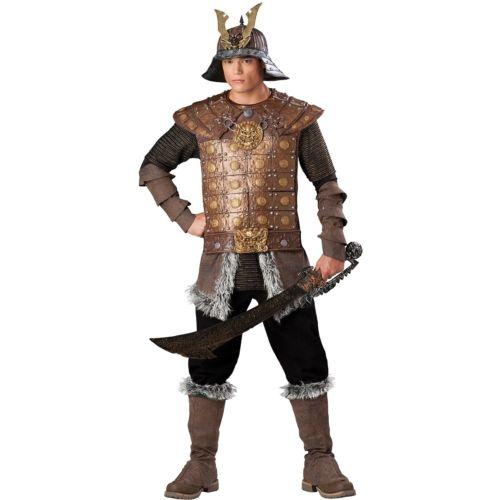 Genghis Khan 大人用 男性用 メンズ Samurai クリスマス ハロウィン コスチューム コスプレ 衣装 変装 仮装