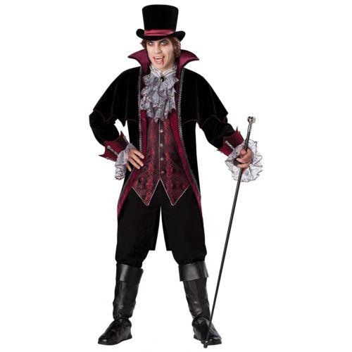 【ポイント最大29倍●お買い物マラソン限定!エントリー】バンパイア 吸血鬼for Men 大人用 Victorian Dracula ハロウィン コスチューム コスプレ 衣装 変装 仮装