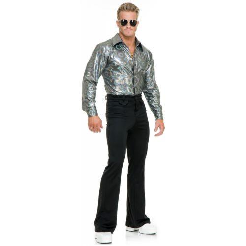 Silver Hologram シャツ 大人用 大人用 ハロウィン コスチューム コスプレ 衣装 変装 Hologram 衣装 仮装, 平和町:b0912755 --- officewill.xsrv.jp