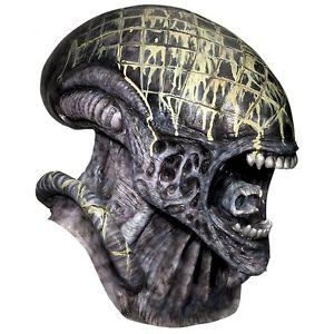 Deluxe Alien マスク AvP Alien vs Pレッドator プレデター 大人用 男性用 メンズ アクセサリー ハロウィン コスチューム コスプレ 衣装 変装 仮装