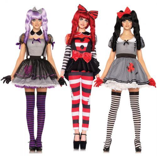 Doll ウィッグ for 大人用 Doll クリスマス ハロウィン コスチューム コスプレ 衣装 変装 仮装