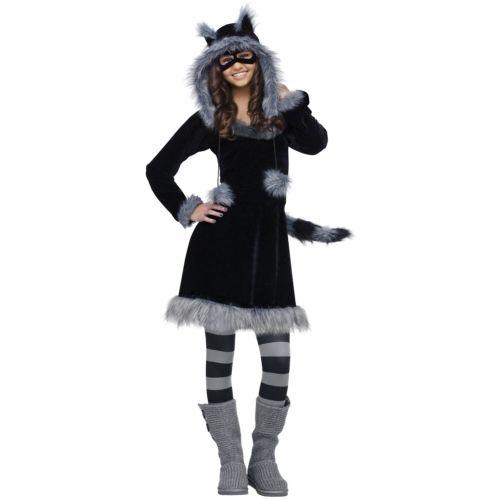 Cute RaccoonTeen ガール クリスマス ハロウィン コスチューム コスプレ 衣装 変装 仮装