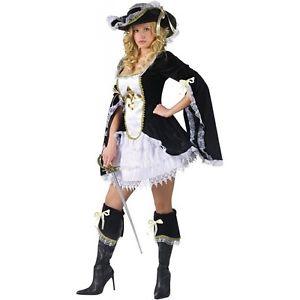 【店内全品P5倍】Midnight Musketeer 大人用 クリスマス ハロウィン コスチューム コスプレ 衣装 変装 仮装