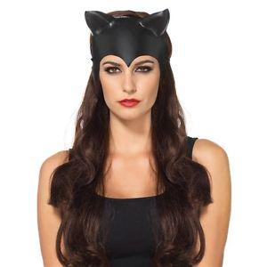 Cat Mask 大人用 Catwoman ハロウィン コスチューム コスプレ 衣装 変装 仮装