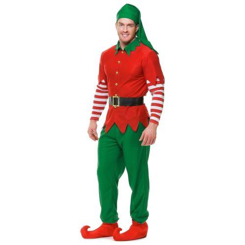 【ポイント最大29倍●お買い物マラソン限定!エントリー】Elf 大人用 クリスマス ハロウィン コスチューム コスプレ 衣装 変装 仮装