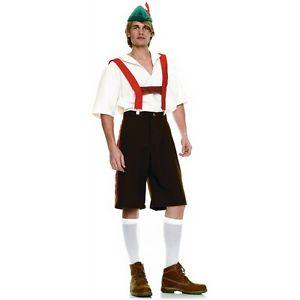 Lederhosen 大人用 男性用 メンズ German Beer Hansel Oktoberfest クリスマス ハロウィン コスチューム コスプレ 衣装 変装 仮装