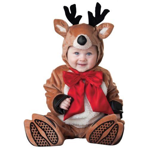 【ポイント最大29倍●お買い物マラソン限定!エントリー】ベイビー ReindeerRudolph クリスマス Outfit ハロウィン コスチューム コスプレ 衣装 変装 仮装