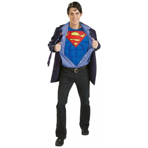 【ポイント最大29倍●お買い物マラソン限定!エントリー】Clark Kent Superman スーパーマン 大人用 Men Business スーツ Superhero Disguise ハロウィン コスチューム コスプレ 衣装 変装 仮装