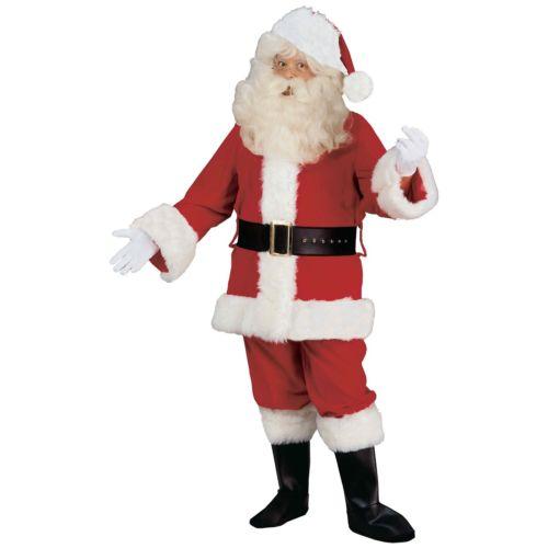 サンタクロース スーツ 大人用 Deluxe Velvet クリスマス クリスマス ハロウィン コスチューム コスプレ 衣装 変装 仮装