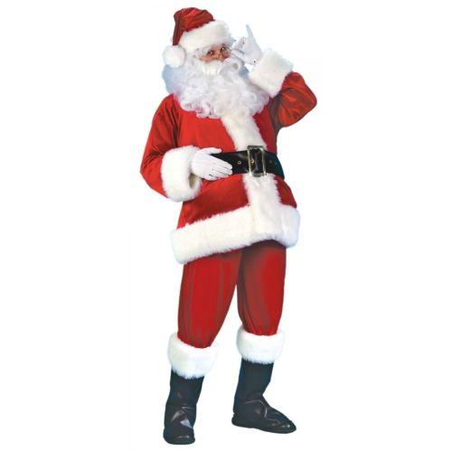 【ポイント最大29倍●お買い物マラソン限定!エントリー】Santa スーツ Deluxe Velour クリスマス メンズ 男性用 大人用 ハロウィン コスチューム コスプレ 衣装 変装 仮装