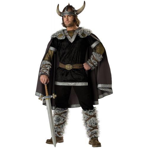 Viking男性用 メンズ Medieval Barbarian Warrior 大人用 ハロウィン コスチューム コスプレ 衣装 変装 仮装