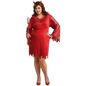 Devil Woman 大人用 Red ハロウィン コスチューム コスプレ 衣装 変装 仮装