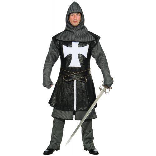 ブラック Knight 大人用 ハロウィン コスチューム コスプレ 衣装 変装 仮装