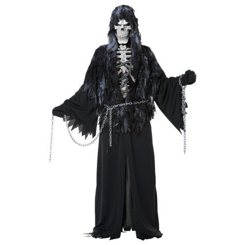 Grim ハロウィン Reaper 大人用 ハロウィン 変装 コスチューム コスプレ 大人用 衣装 変装 仮装, 時計メガネレンズのプライムアイズ:d8b41d2f --- officewill.xsrv.jp