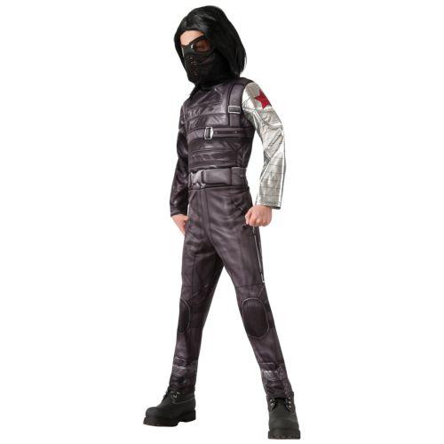 Winter Soldier キッズ 子供用 スーパーヒーロー Villain ハロウィン コスチューム コスプレ 衣装 変装 仮装