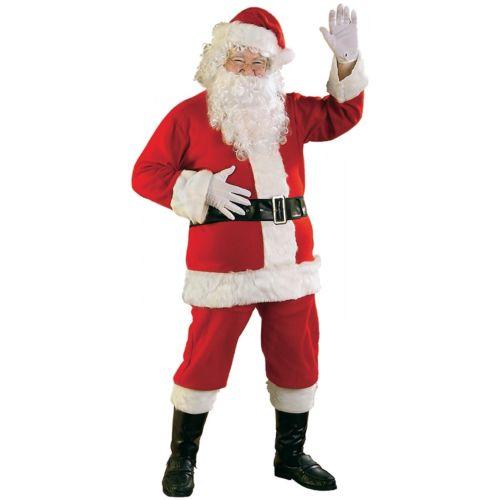 【ポイント最大29倍●お買い物マラソン限定!エントリー】Santa スーツ 大人用 Lightweight サンタクロース クリスマス メンズ 男性用 ハロウィン コスチューム コスプレ 衣装 変装 仮装