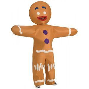 【ポイント最大29倍●お買い物マラソン限定!エントリー】Gingerbread Man 大人用 Shrek シュレックFunny おとぎ話 ハロウィン コスチューム コスプレ 衣装 変装 仮装