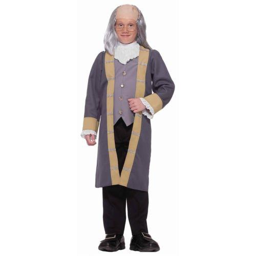 Ben Franklin キッズ 子供用 4th of July クリスマス ハロウィン コスチューム コスプレ 衣装 変装 仮装