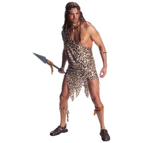 【マラソン全品P5倍】ターザン 大人用 男性用 メンズ Caveman Cave Man Jungle クリスマス ハロウィン コスチューム コスプレ 衣装 変装 仮装