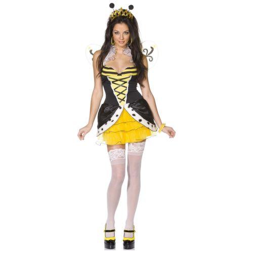 【店内全品P5倍】Queen Beeotch 大人用 クリスマス ハロウィン コスチューム コスプレ 衣装 変装 仮装